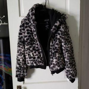 Faux fur current mood dollskill XS leopard print